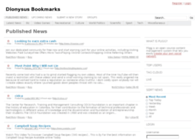 dionysusbookmarks.com