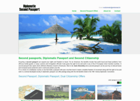 diplomaticsecondpassport.com