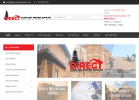 directcedarsupplies.com