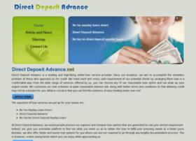 directdepositadvance.net