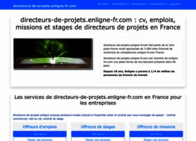 directeurs-de-projets.enligne-fr.com