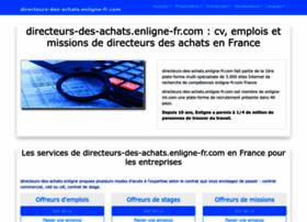 directeurs-des-achats.enligne-fr.com