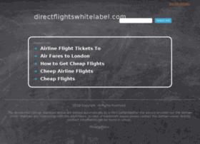 directflightswhitelabel.com
