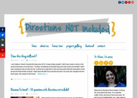 directionsnotincluded.com