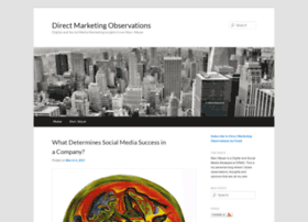 directmarketingobservations.com