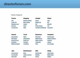 directorforum.com