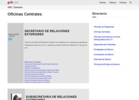 directorio.sre.gob.mx