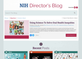 directorsblog.nih.gov