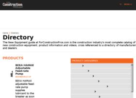 directory.forconstructionpros.com