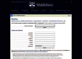 directory.middlebury.edu