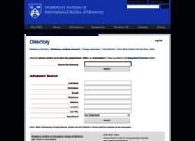 directory.miis.edu