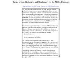 Directory.msba.org