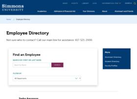 directory.simmons.edu