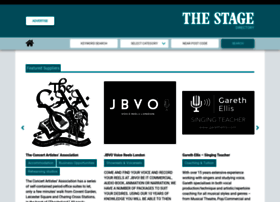 directory.thestage.co.uk