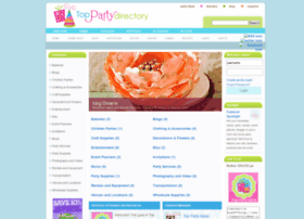 directory.toppartyideas.com