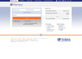 directory.ufl.edu