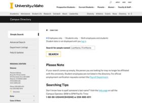 directory.uidaho.edu