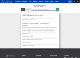 directory.unca.edu