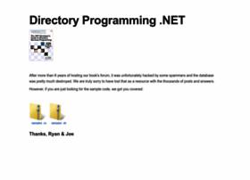 directoryprogramming.net