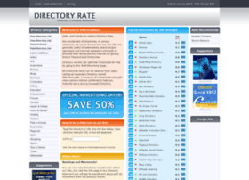 directoryrate.com info. Directory Rate - Directory Lists and Resources