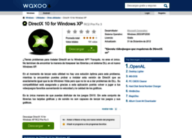 directx-10-for-windows-xp.waxoo.com
