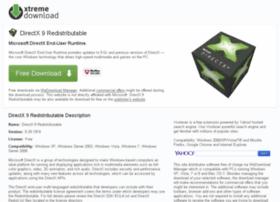 directx-redistributable.xtremedownload.com