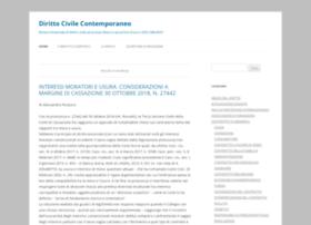 dirittocivilecontemporaneo.com