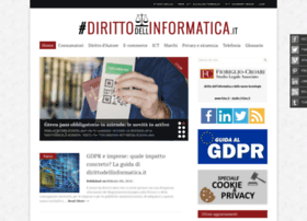 dirittodellinformatica.it