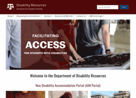 disability.tamu.edu