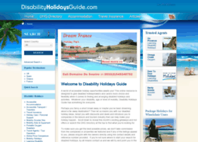 disabilityholidaysguide.com