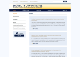 disabilitylaw.in