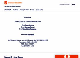 disabilityservices.syr.edu