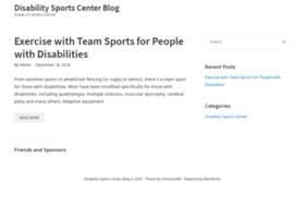disabilitysportscenter.com