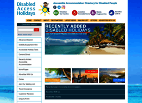 disabledaccessholidays.com