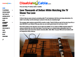 disablemycable.com