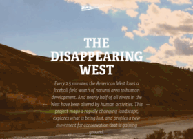disappearingwest.org