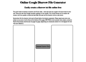 disavowfilegenerator.com