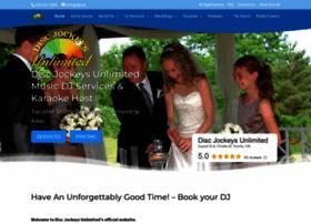 discjockeysunlimited.com