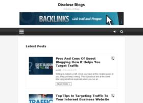discloseblogs.com