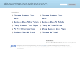 discountbusinessclassair.com