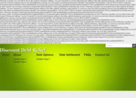 discountdebtrelief.com