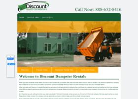 discountdumpsterrentals.com