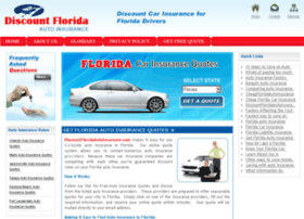 discountfloridaautoinsurance.com