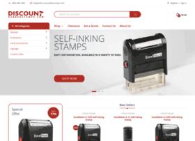 discountrubberstamps.com