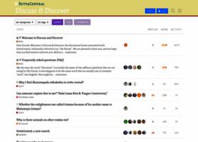 discourse.suttacentral.net