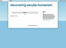 discovering-secular-humanism.blogspot.com