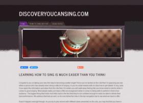 discoveryoucansing.com
