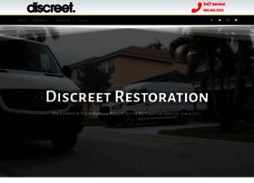 discreetrestoration.com