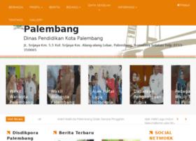disdikpora.palembang.go.id
