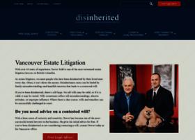 disinherited.com